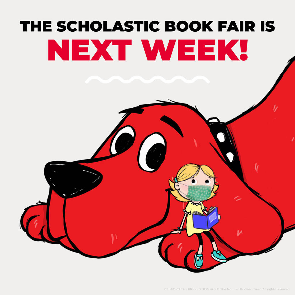 Scholastic Book Fair is Next Week!