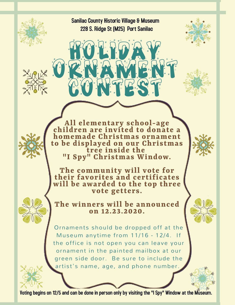 Holiday Ornament Contest