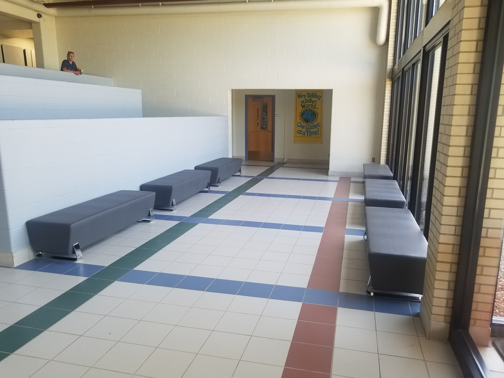 Atrium bench seating