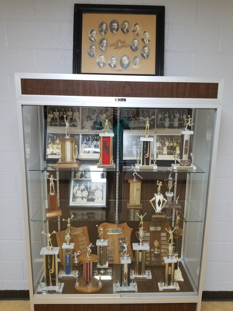 Vintage pictures and trophies